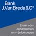 Bank J. Van Breda & Co. Genk Vrije Beroepen